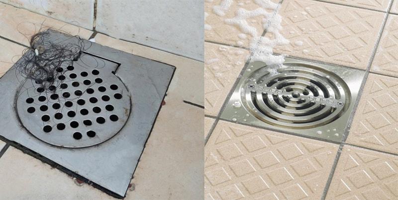 Cách xử lý cống thoát nước bị tắc tại nhà