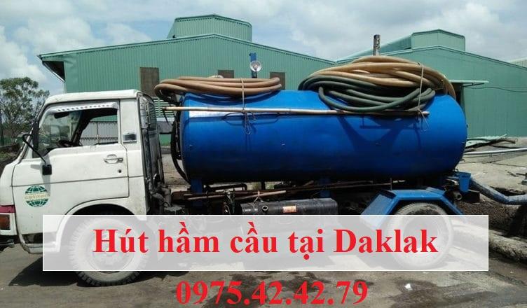 Hút hầm cầu tại Daklak giá rẻ